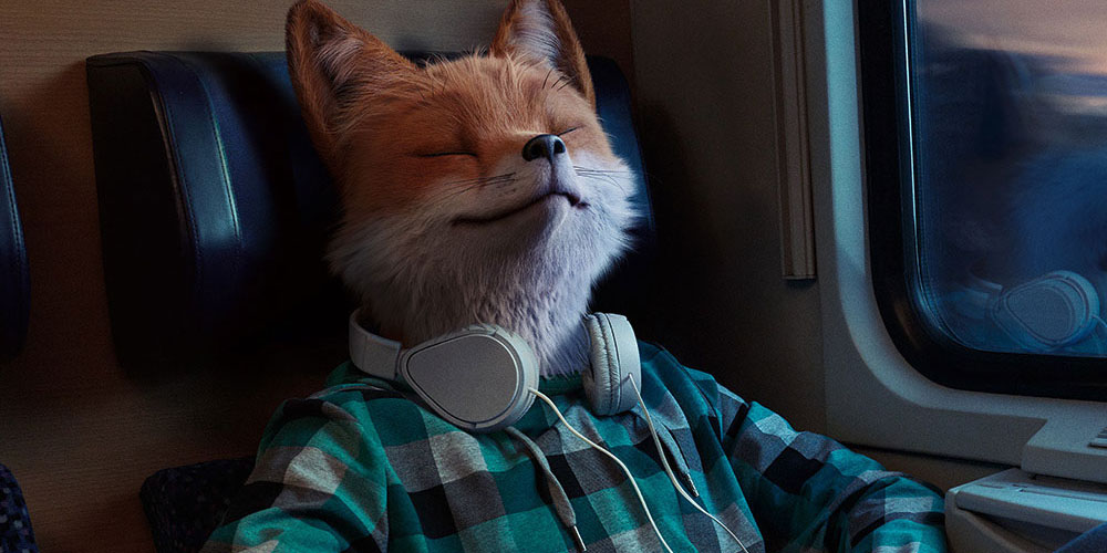 SLEEPY FOX